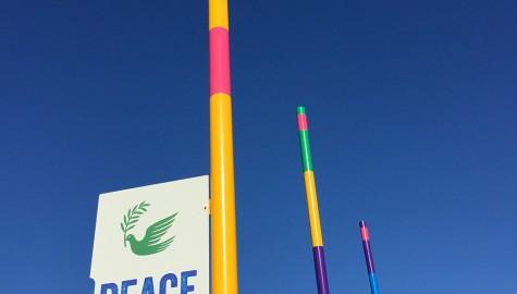 Nelson Peace Poles